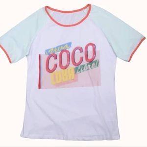 Chanel viva coco Cuba libre shirt
